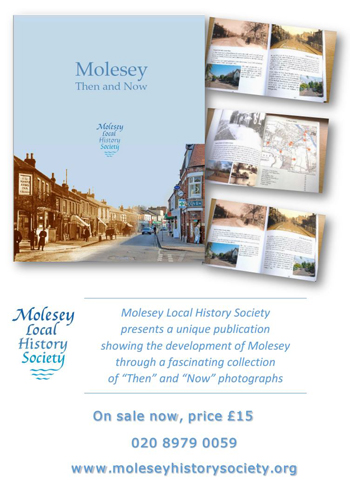 Molesey - Then and Now poster